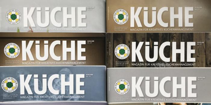 VKD-Magazin KÜCHE erscheint ab Januar 2019 im neuen Verlag
