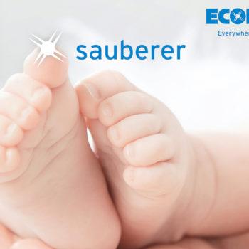 Ecolab Babyfusssparkle Schrift M Logo 1