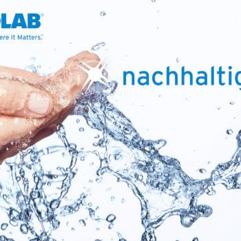 Ecolab Wasser Sparkle Schrift M Logo