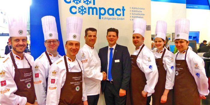 Cool Compact engagiert sich bei der Olympiade der Köche