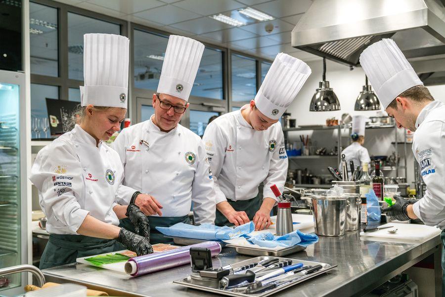 Köche-Nationalteams: Training für die WM-Teilnahme
