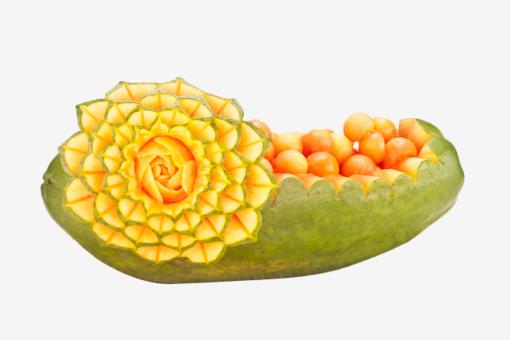 Früchte- und Gemüseschnitzen