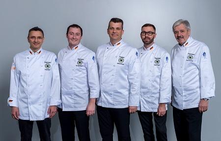 Das VKD-Präsidium (v.l.): Richard Beck (Süd), Hans-Peter Achenbach (West), Andreas Becker (Präsident), Daniel Schade (Ost) und Johann Grassmugg (Nord). Foto: Martin Joppen