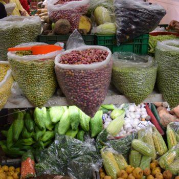 Der Gemüsestand in Peru hat eine vielfältige Auswahl. Foto: Privat