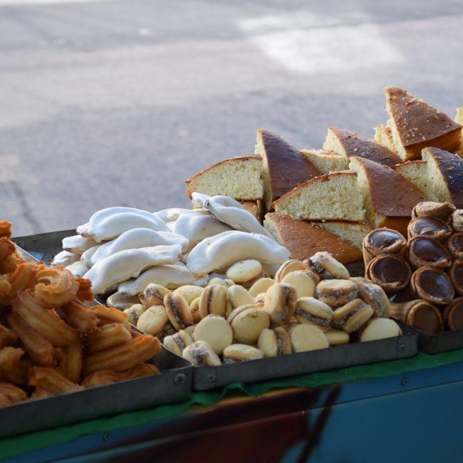 Für Süßes ist gesorgt - zum Beispiel mit Alfajores oder Churros. Foto: Privat