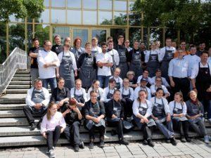 Bayrische Nachwuchs-Köche: Im Jugendcamp des Landesverbands der Köche Bayern gab es Einiges für die kulinarischen Künstler von Morgen zu lernen. Foto: Landesverband der Köche Bayern