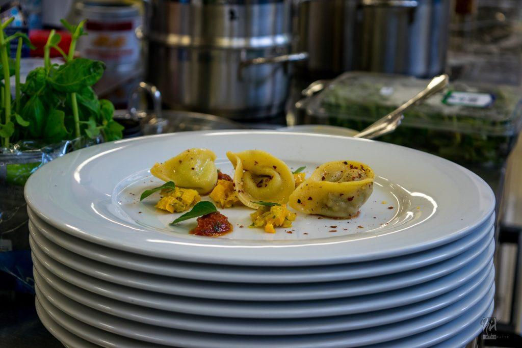Sowohl Pasta-Art als auch Sauce konnten die Teilnehmer selbst wählen. Foto: Privat