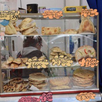 Ein typischer Streetfood-Stand in Chile. Foto: Privat