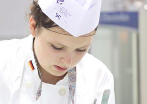Sandra Hofer trat am 12. Juli bei der Global Young Chefs Challenge an. Foto: VKD Sandra Hofer, 22, Geisels Werneckhof, München