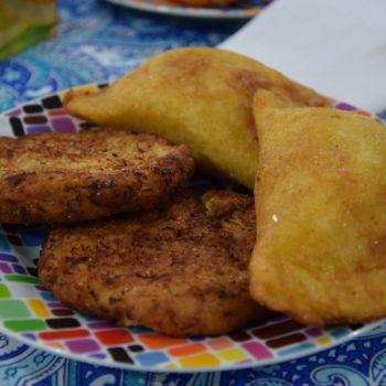 Pastel Mandi`o und Pajagua mascada sind aus der gekochten und zerdrückten Maniokknolle hergestellt. Foto: Privat