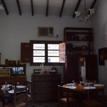 Das Restaurant El Aljibe in Santa Cruz ähnelt einem kleinen Museum. Foto: Privat