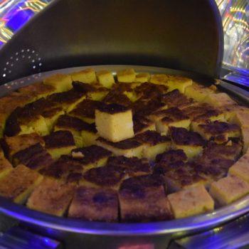 Sopa paraguaya: eine Art Auflauf aus Maismehl, Käse, Milch und Zwiebeln. Foto: Privat