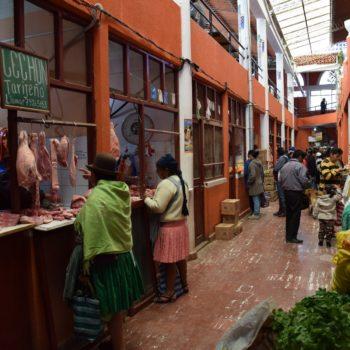 Ein typischer Markt in Bolivien. Foto: Privat