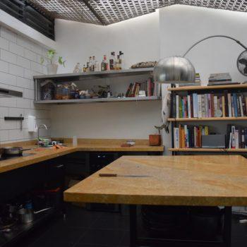 Die Küche im Salvo Patria in Bogotá. Foto: Privat