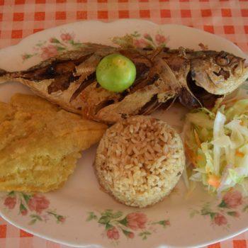 Meeresfisch mit Kokosreis. Foto: Privat