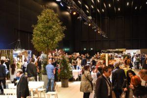 Blick in die Halle: Die Gustav ist ein Salon für internationale Konsumkultur. Foto: Udo Mittelberger