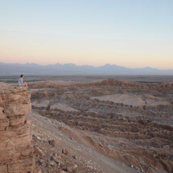 Atemberaubende Aussicht: das Montal in der Atacamawüste in Chile. Foto: Privat