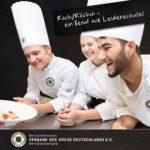 Der Verband der Köche Deutschlands e. V. hat seine Berufsinformation Koch/Köchin neu aufgelegt. Titel: VKD