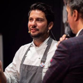Den Auftakt zur Veranstaltung machte Stefan Csar, Küchenchef im Wachter & Wiesler, Haubenkoch und Junger Wilder. Foto: Michael Gunz