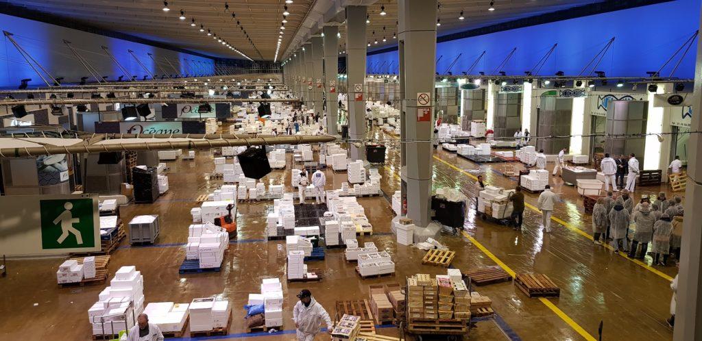 Rungis ist der größte Großmarkt der Welt. Foto: VKD