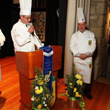 90 Jahre Köcheverein Heilbronn: das feierten die Köche bei einem Festabend mit zahlreichen Ehrungen. Foto: Michael Wagner