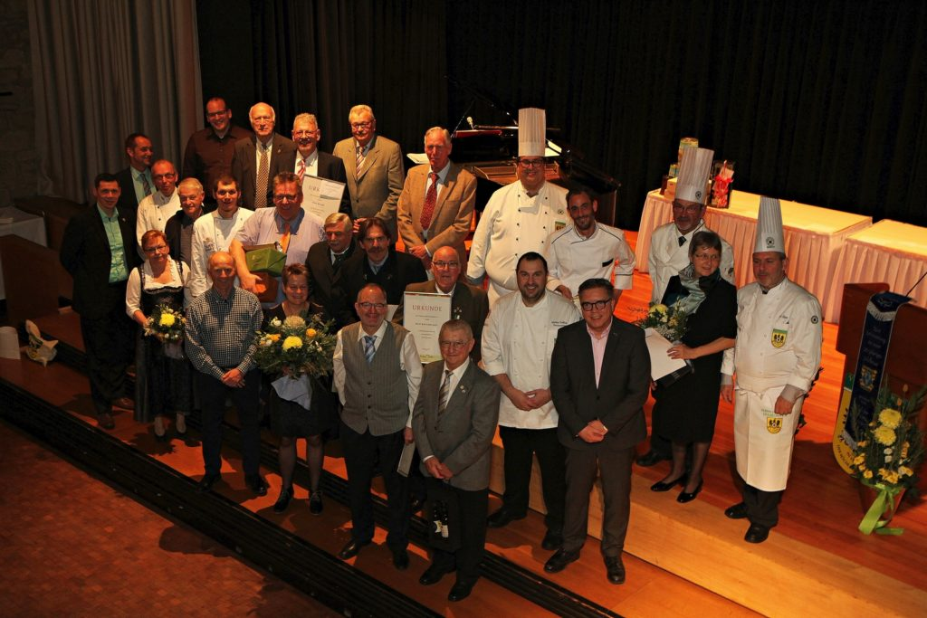 Heilbronner Köche feiern 90-jähriges Bestehen