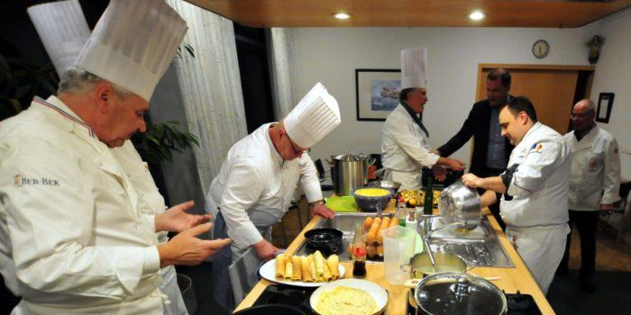 Lübecker Köche kochen für kranke Kinder