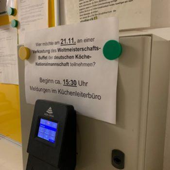 Letzter Test vorm Culinary World Cup: Am Mittwoch kocht das Team nochmals für Gäste von der Hochschule Trier. Foto: Aina Keller