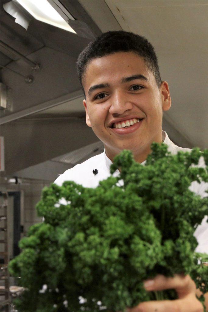 Thomas hast sich schon immer für das Kochen begeistert. Foto: VKD