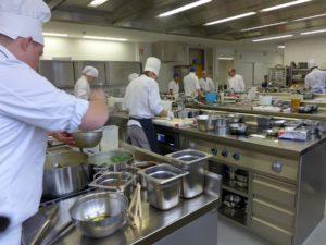 Gute Arbeitsbedingungen für Unterricht und Wettbewerbe. Foto: Berufsschule Bad Wörishofen