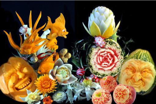 Obst- & Gemüseschnitzkurse
