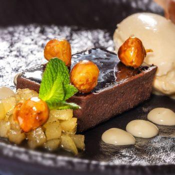 Sieger-Kreation »Zwerg« mit Schokolade, Karamell und Salz. Foto: HUG