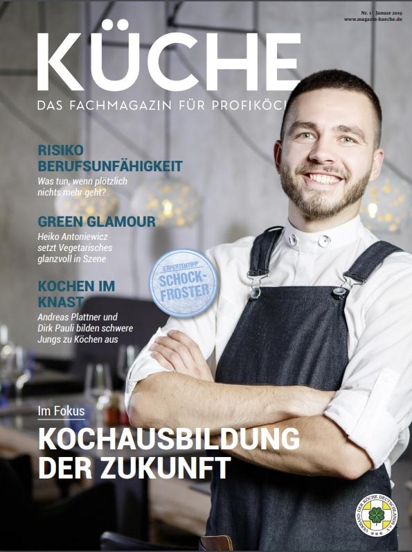 Neues Jahr, neue KÜCHE – Ausgabe 1 ist da!