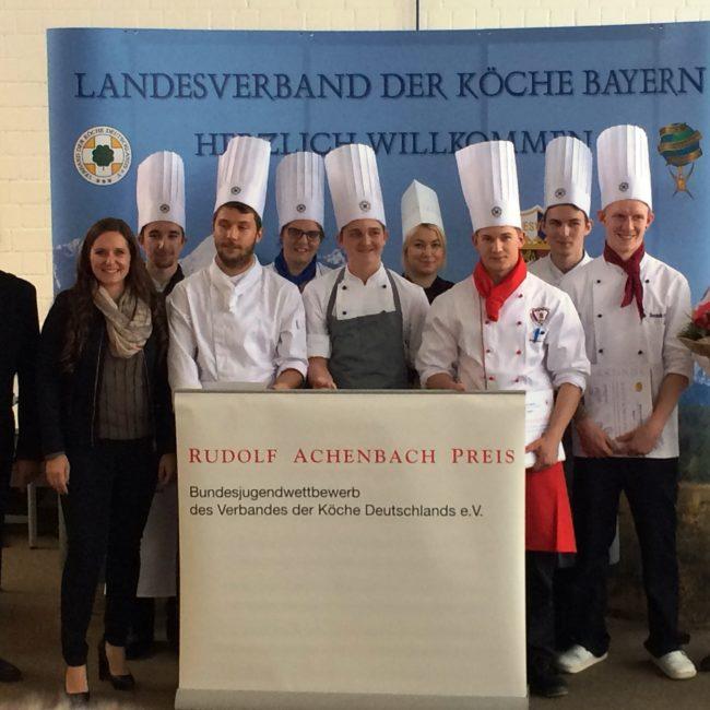 Alle Jahre wieder: Der regionale Achenbach-Vorentscheid wird seit 1987 in Aschaffenburg ausgetragen. Foto: Köcheverein Aschaffenburg-Miltenberg e. V.
