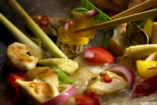 Zeitgemäße Küche mit Crossover, Sous-vide und vegetarischen Trends