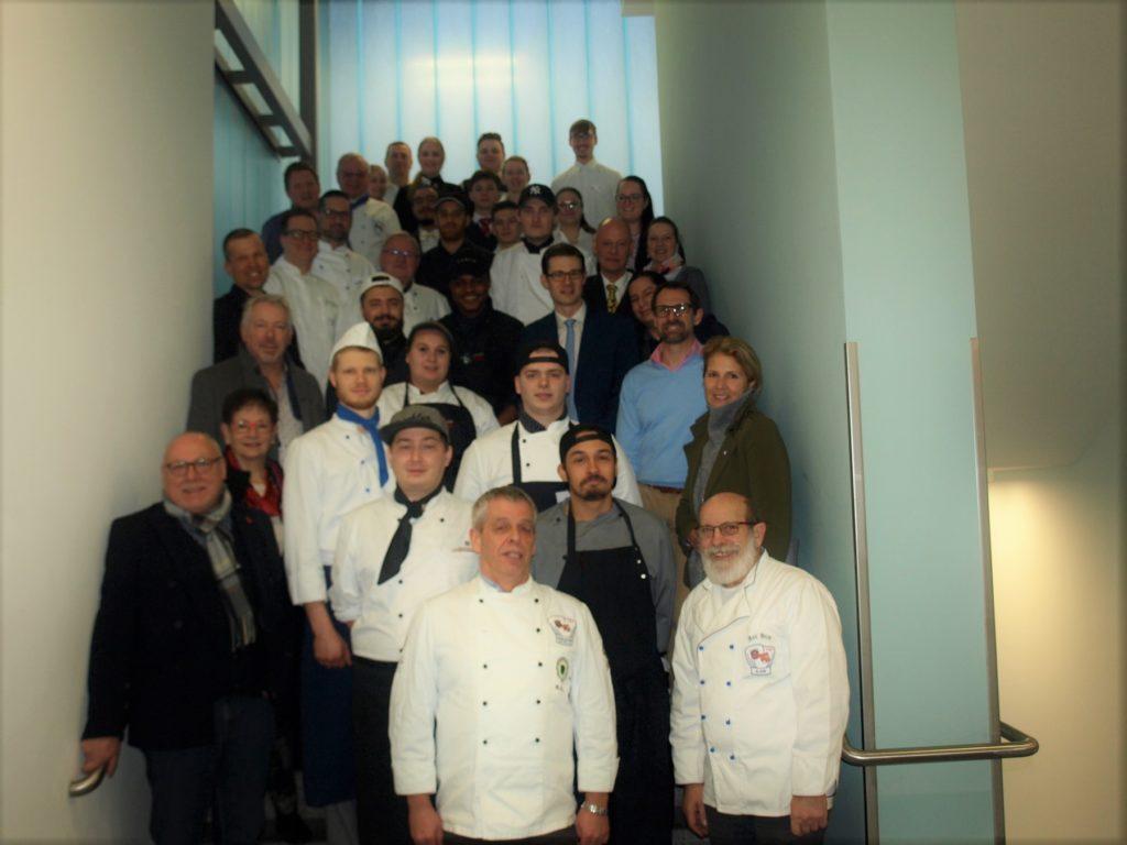 Köche-Nachwuchs kämpft um den Edgar Fuchs Cook Academy Award