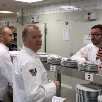Die Jury um VKD-Vizepräsident Daniel Schade (rechts). Ebenfalls zu Gast: Ehrensenatorin Thea Nothnagel. Foto: LV Berlin-Brandenburg