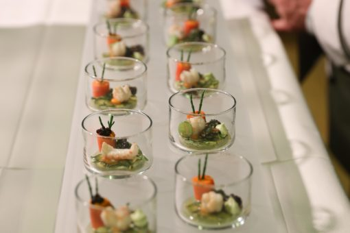 Gläserfood & Flying Buffets – Neue Ideen und Kreationen