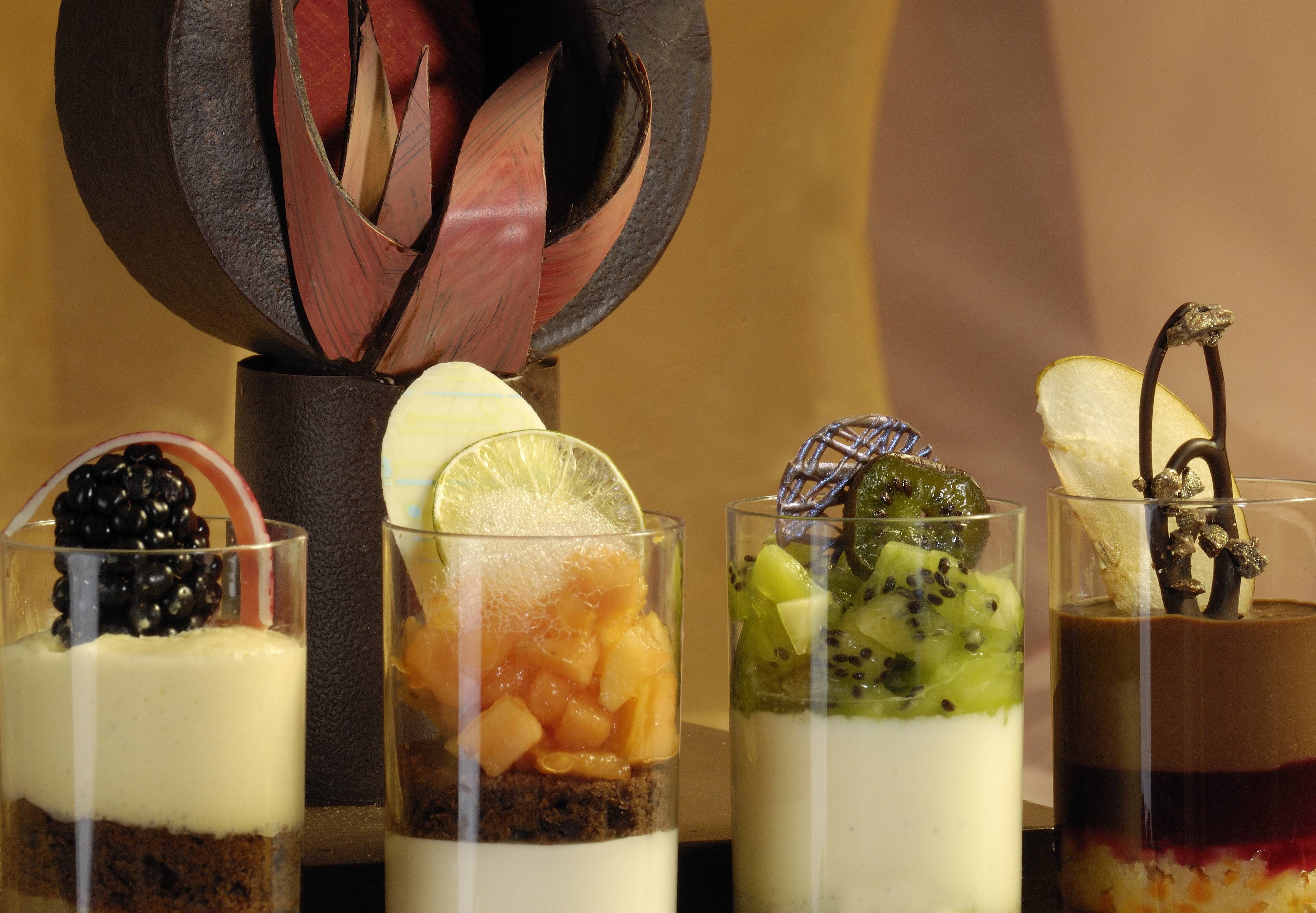 Pâtisserie französisch: Kleintorten, Tartes, Desserts