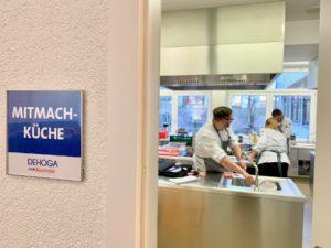 Übung macht den Meister: Bei der IKA/Olympiade der Köche im nächsten Jahr muss das Team als Einheit in der Küche funktionieren. Foto: Aina Keller