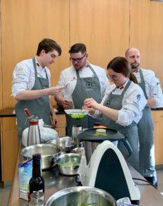 Trends setzten heißt es bei der IKA/Olympiade der Köche nächstes Jahr in Stuttgart. Foto: Aina Keller