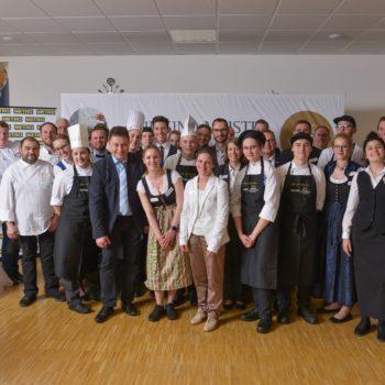Alle Teilnehmer des Wettbewerbs. Foto: Philipp Sedlacek