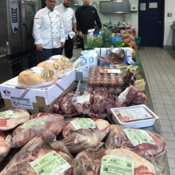 Jury und Warenkorb stehen bereit. Foto: LV Mitteldeutschland
