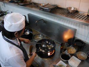 Im Bo.Ian wird traditionell im Wok gekocht. Foto: privat