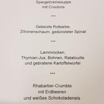 Das Siegermenü von Elisa Klötzer. Foto: LV NRW