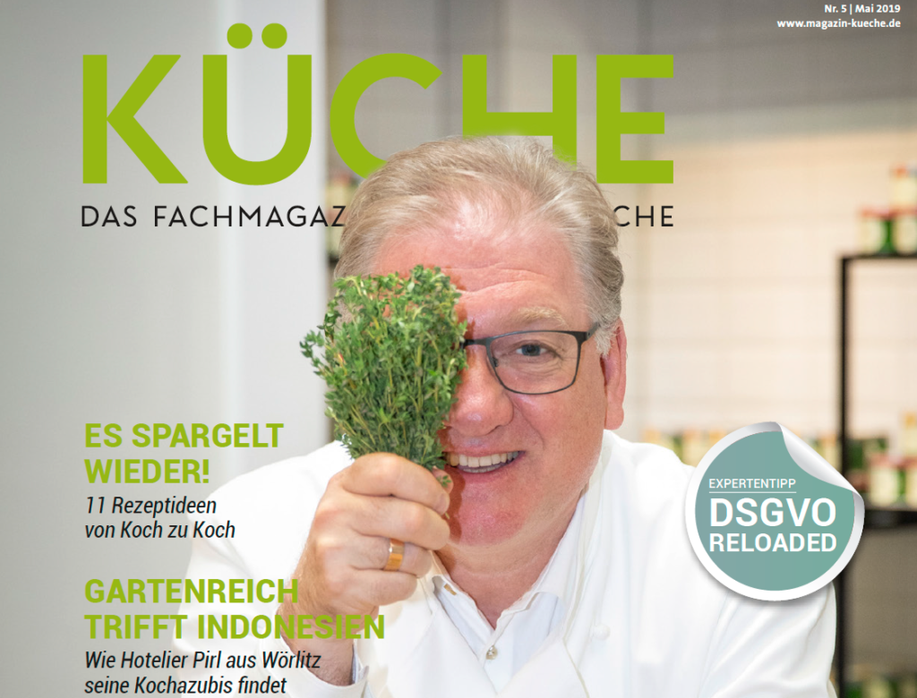 KÜCHE 5 goes Event