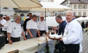 Auch leckere Köstlichkeiten gab es für die Besucher. Foto: Club der Köche Südpfalz e.V.