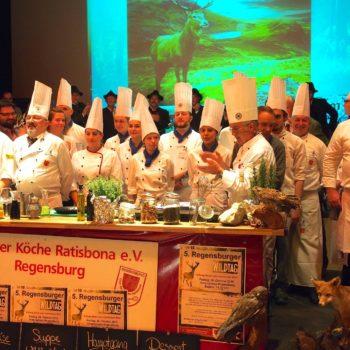 Kulinarische Aktion im Herbst: der Regensburger Wildtag. Foto: Clu der Köche Ratisbona e.V.