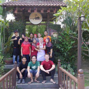 Das Team im Aunty Aini`s. Foto: Privat