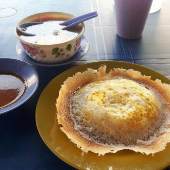 Spiegelei triff Pfannkuchen: Egg Hoppers. Foto: Privat
